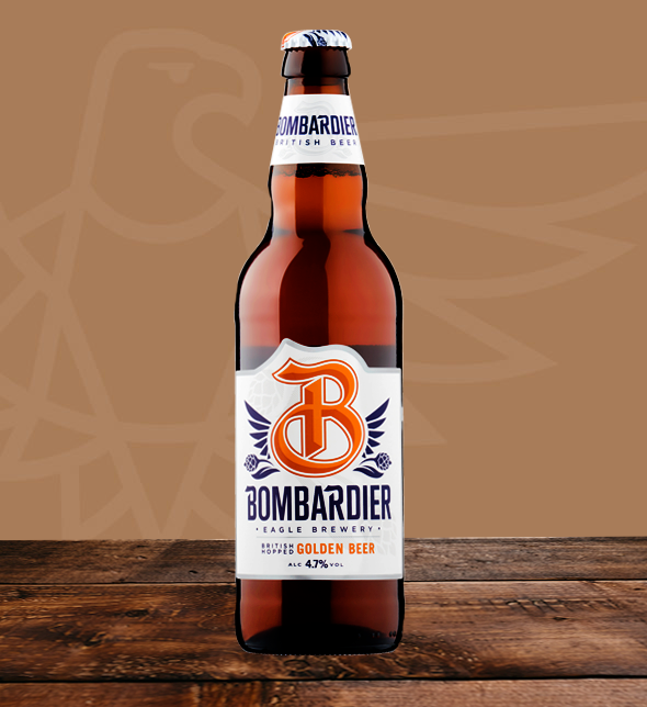 Bombardier Golden Beer