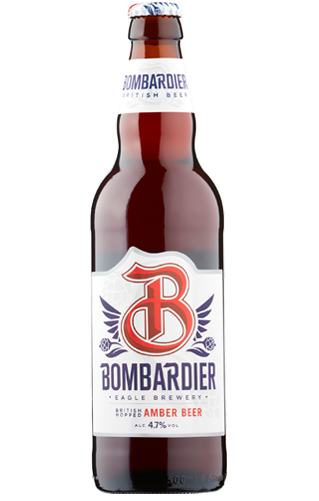 Bombardier Amber Beer
